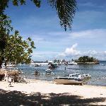 Beach at Cebu White Sands