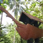 replica of the Balangay boat