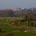 The view to Arundel Castle