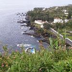 Looking down upon the coast of Sao Miquel, Azores