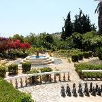The gardens at Quinta Bonita