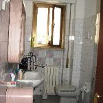 the bigger bathroom
