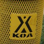 This describes exactly how we feel about this KOA- it's a trash can.