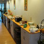 Suzette's spectacular breakfast buffet