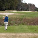 Great winter golfing conditions with well-kept fairways and greens.