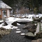 Outdoor Footbath