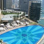 Pool/marina view