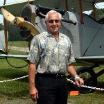 Steve with classic Bi-Plane