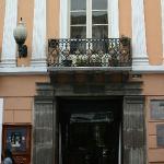 Exterior of La Casa Museo Maria Augusta Urrutia