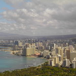 Honolulu - view from Diamond Head