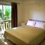 Queen size, tropical garden view room
