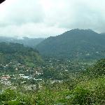 Roadside view of Boquete