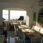 Vista ristorante con panorama