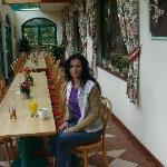der Hoteleigene Wintergarten
