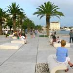 Split harbour promenade