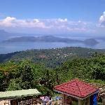 Taal Volcano from view park