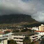 View of Table Mountain from balcony