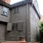 paul revere house side