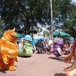 13.- Hollywood Studios :Parade de la tarde II