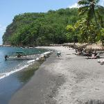 Anse Chastenet beach