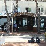 Hotel entrance of Terramar