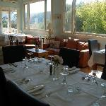 Dining room at Aire Valley Restaurant