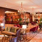 The historic lobby of The Hotel Roanoke.  Welcoming guests since 1882.