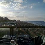 Tramonto dalla terrazza panoramica