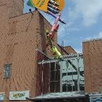 The back entrance to the Crayola Factory.