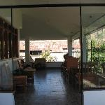 the sun room at Posada tres Marias