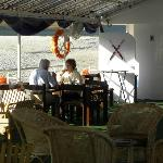 Private sundeck for enjoying beauty & food