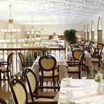 Veranda Restaurant at the Radisson Royal Hotel, Moscow