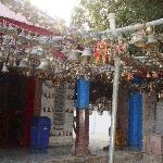 Jhula Devi temple corridor