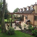 Marl Cottage Rear Garden View