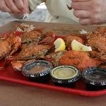 Yummy crabs!