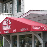 Look for the Red Awning