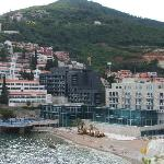 View of the hotel complex from Budva Old Town