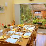 Ivy Neuk breakfast room b and b Kelso