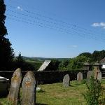 View from Chulmleigh churchyard