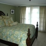 Bedroom in carriage house