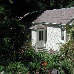 Entrance to Hidden Garden Room