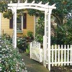 Garden Entrance to Magnolia Cottage