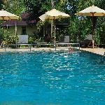pool.....blue!