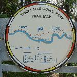 Karte vom Park