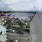 View from the room of Killybegs harbor