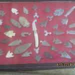 Arrow head display case