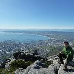 seeing Cape Town from table mountain