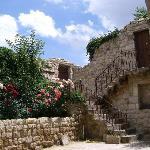 giardino interno Esbelli Evi