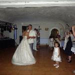 lors du mariage piste où l'on dansait