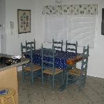 Newly remodeled dining area